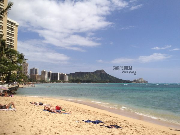 Things to do in Oahu with Toddlers Waikiki Beach and Diamond Head Crater