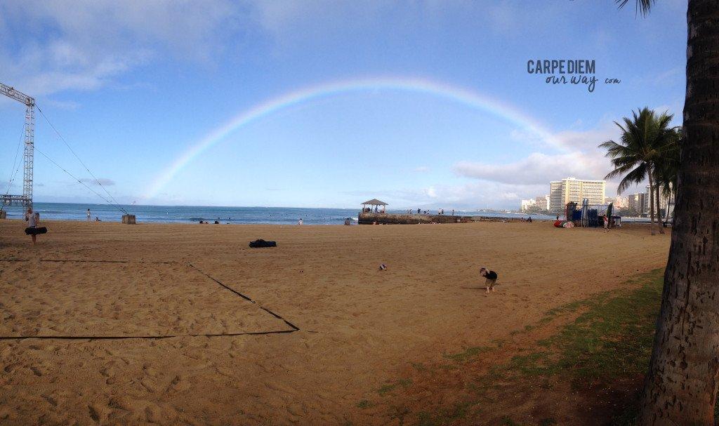 Waikiki Beach Rainbow