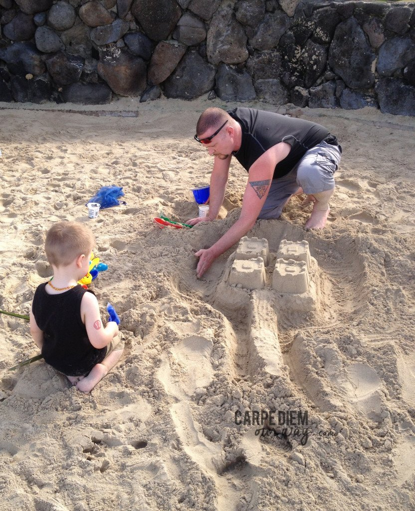 Sandcastle Building in Honolulu