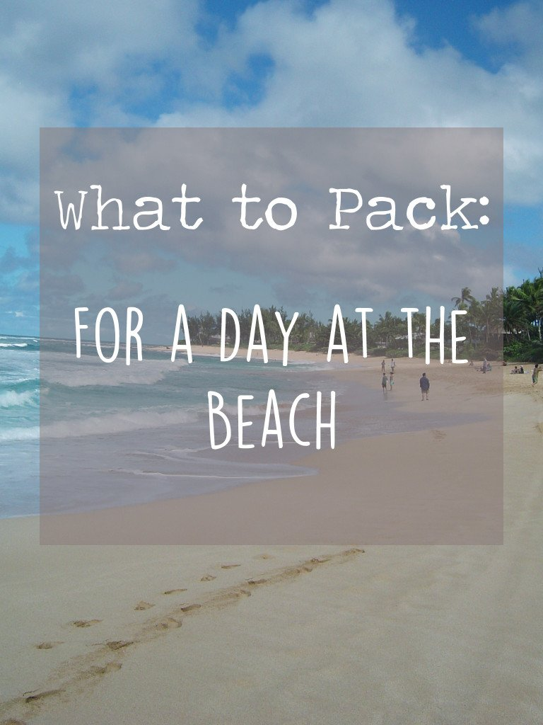 what to pack for beach