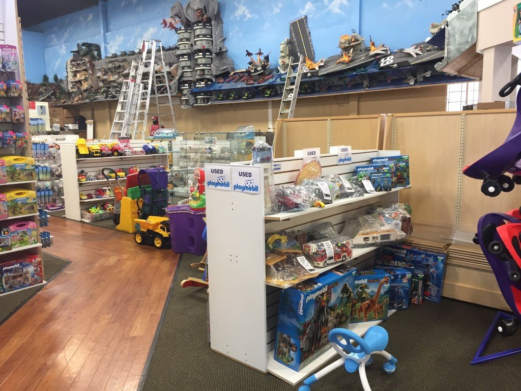 the Used Toy Section