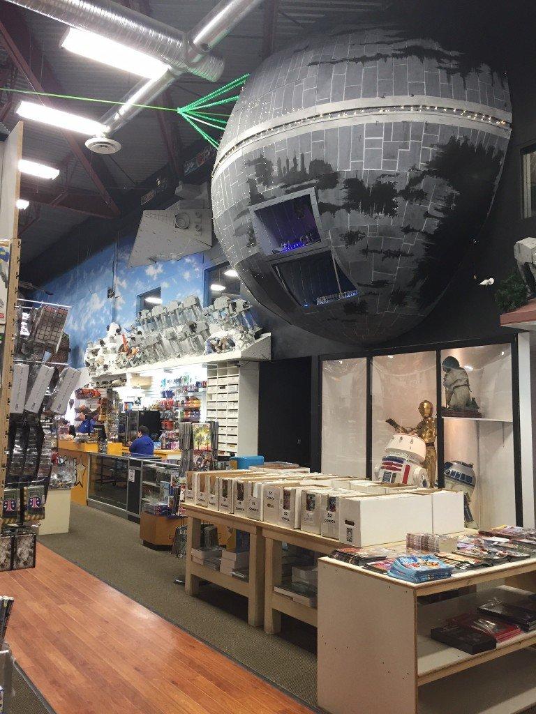 Star Wars Death Star Display