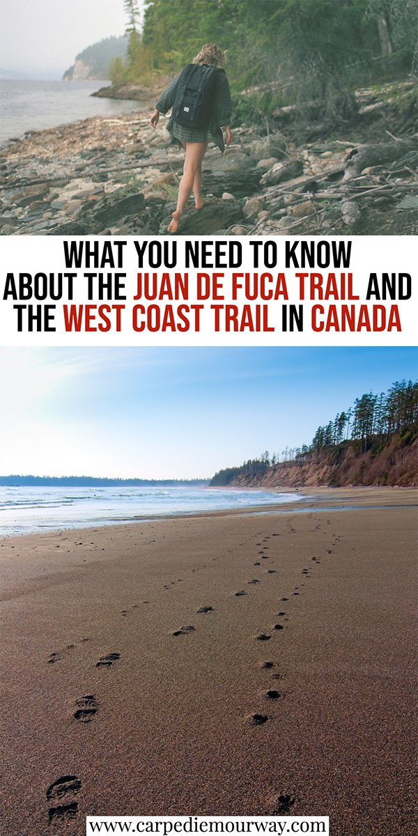 Juan de Fuca Trail vs West Coast Trail