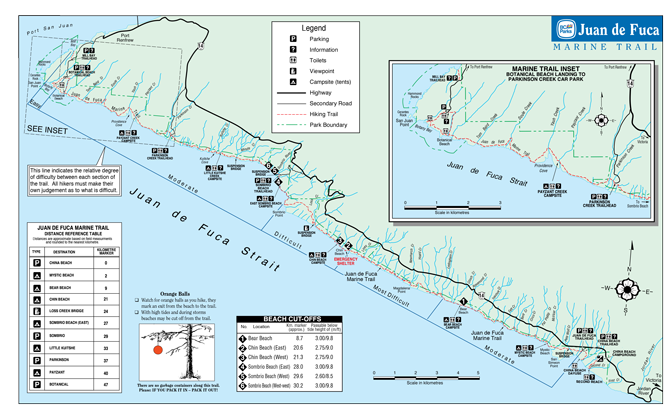 Juan-de-fuca-trail-map