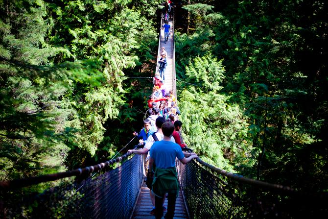 Lynn Canyon Suspension Bridge Photo by GoToVan