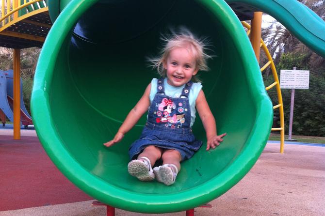 Toddler Slide, Abu Dhabi