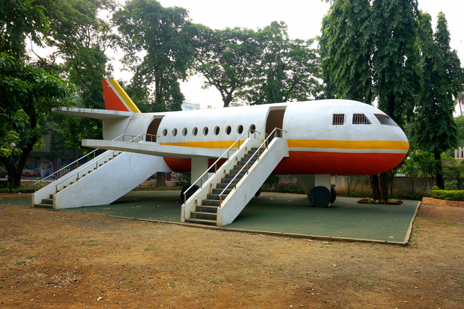 Airplane Playground, Mumbai, India