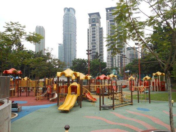 Pertains Towers Playgrounds, Kuala Lumpur, Malaysia