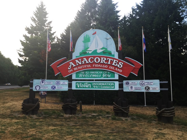 Welcome to Anacortes, on Fidalgo Island
