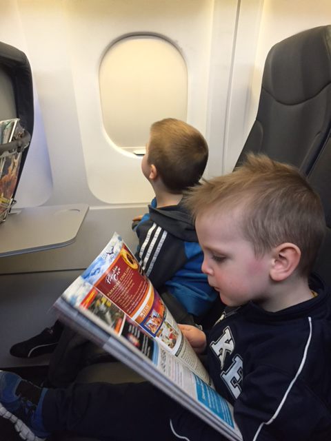 Take Advantage of the InFlight Magazine on your Toddler's First Flight