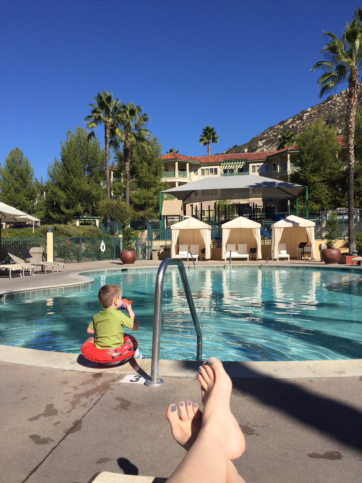 Relaxing Poolside at the Welk San Diego