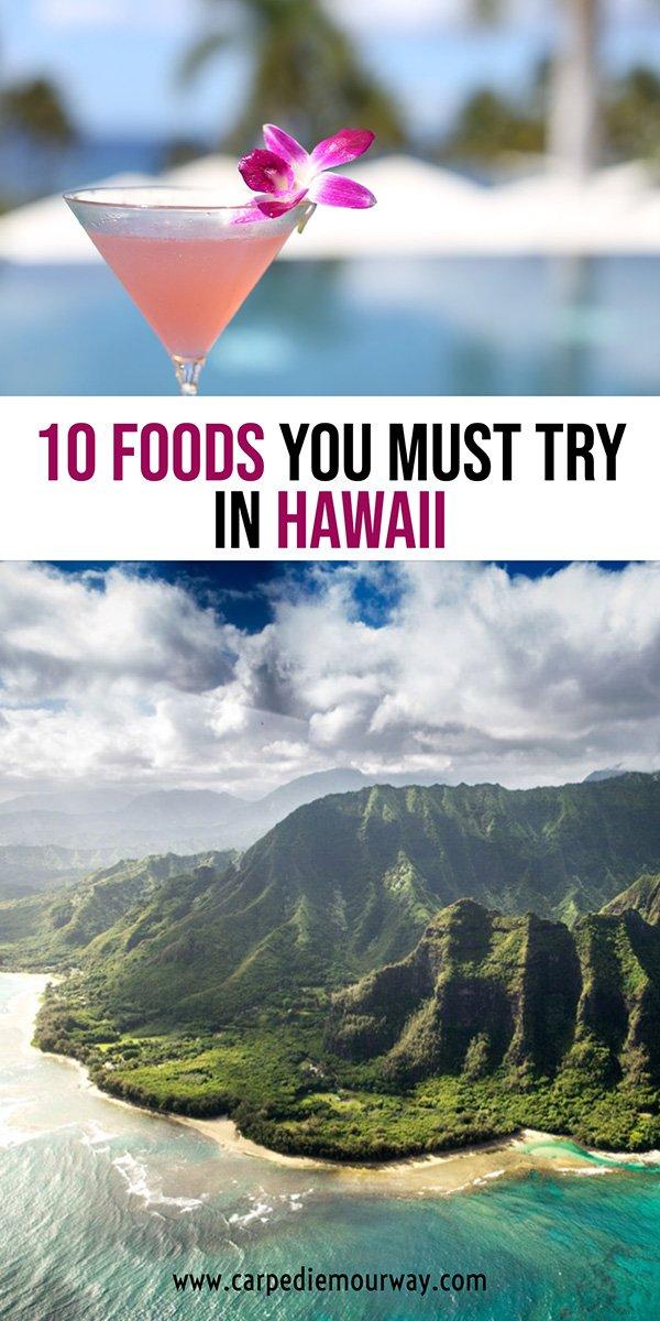 Hawaiian Food to try in Hawaii