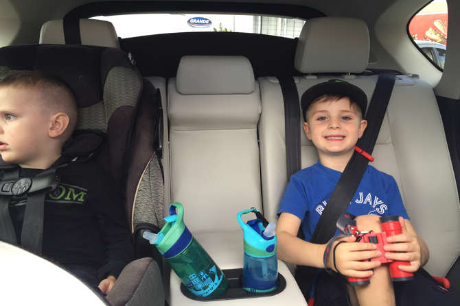 Backseat-cup-holders-mazda-CX-5-review-for-families-Carpe-Diem
