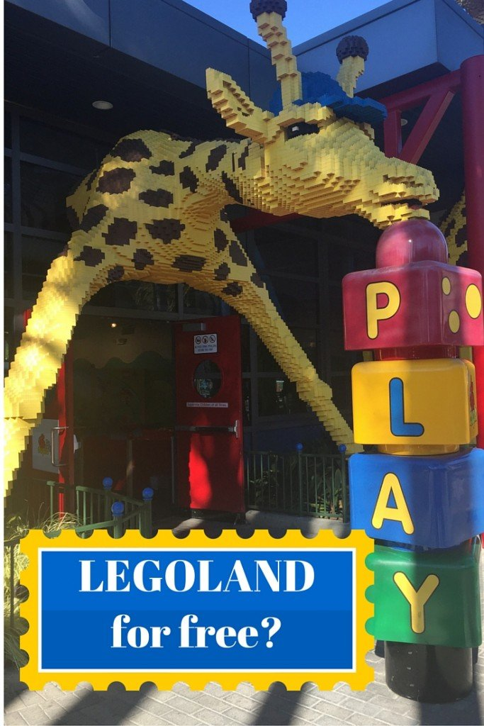 How to get into Legoland for Free! Check out how to Save money on your next visit to Legoland!