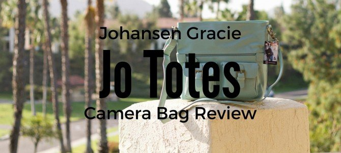 Why Every Woman needs a Johansen Gracie Camera Bag