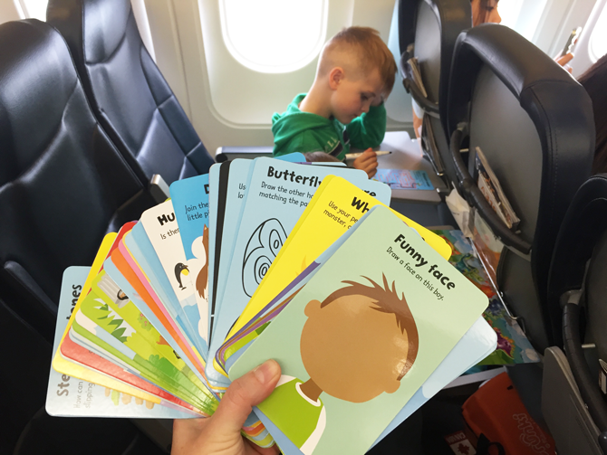 Toddler Airplane Activities | Things to pack for kids on a plane