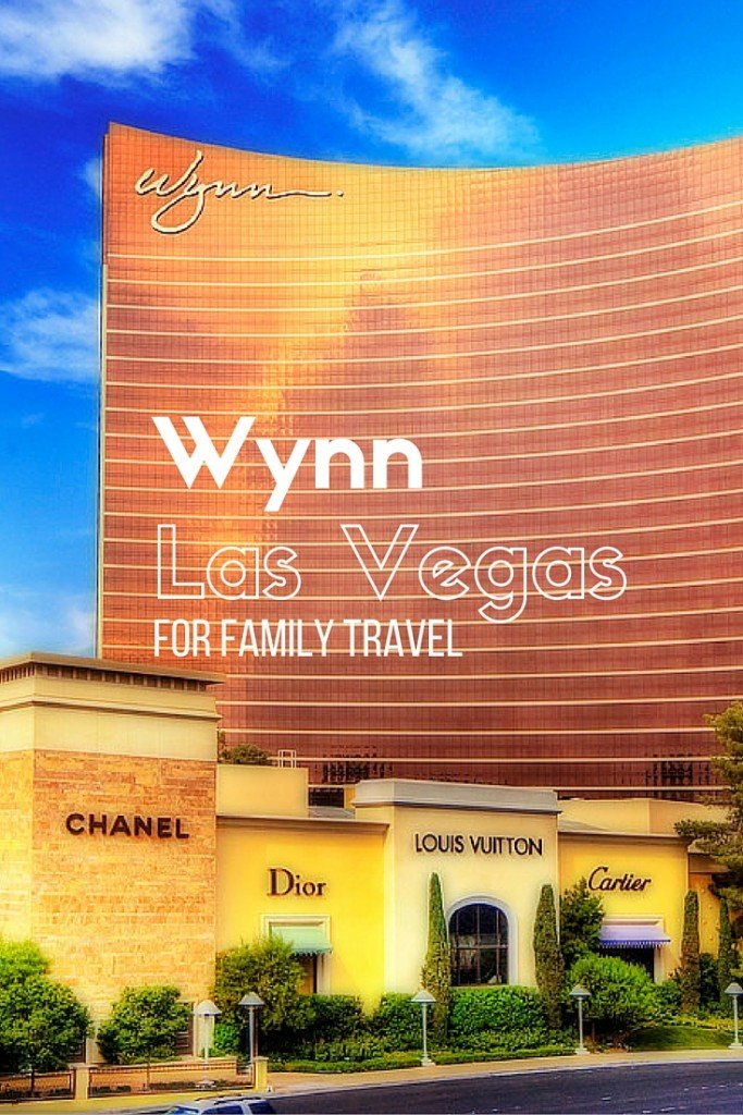 the Wynn Las Vegas for Family Travel. Why you should stay at the Wynn with your Family the next time you visit Las Vegas!