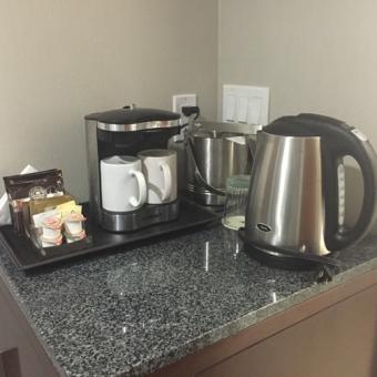 In-Room-coffee-doubletree-kamloops