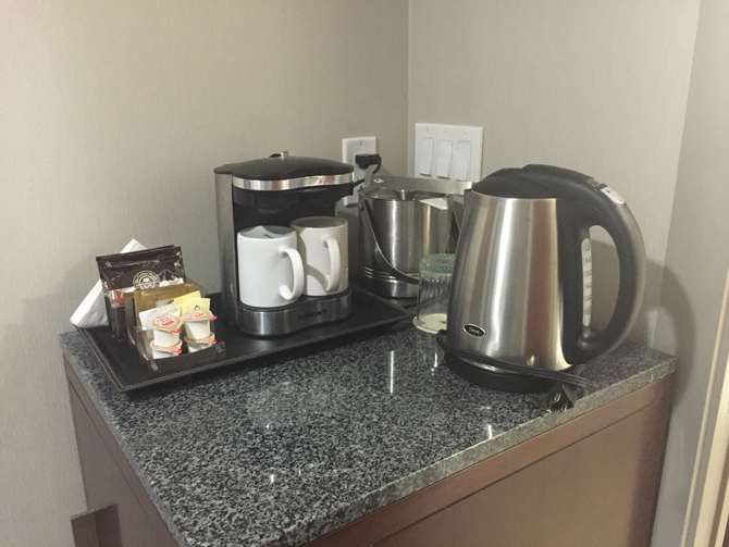 In-Room Coffee and Tea