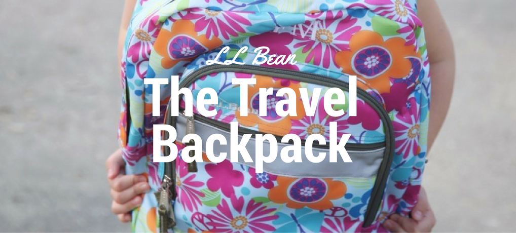 LL Bean - the Travel Backpack