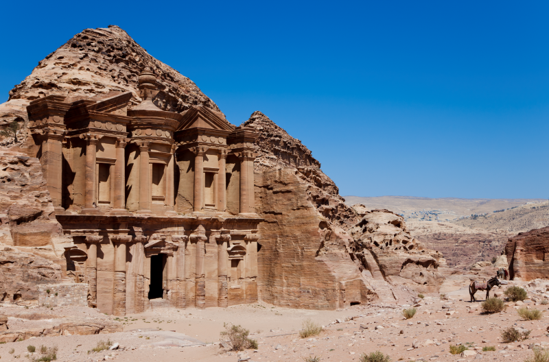 Petra, One of Jordan's most spectacular sights