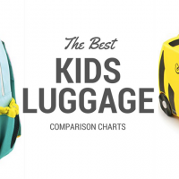 THE BEST KIDS CARRY ON LUGGAGE COMPARISON CHART from Carpe Diem OUR Way