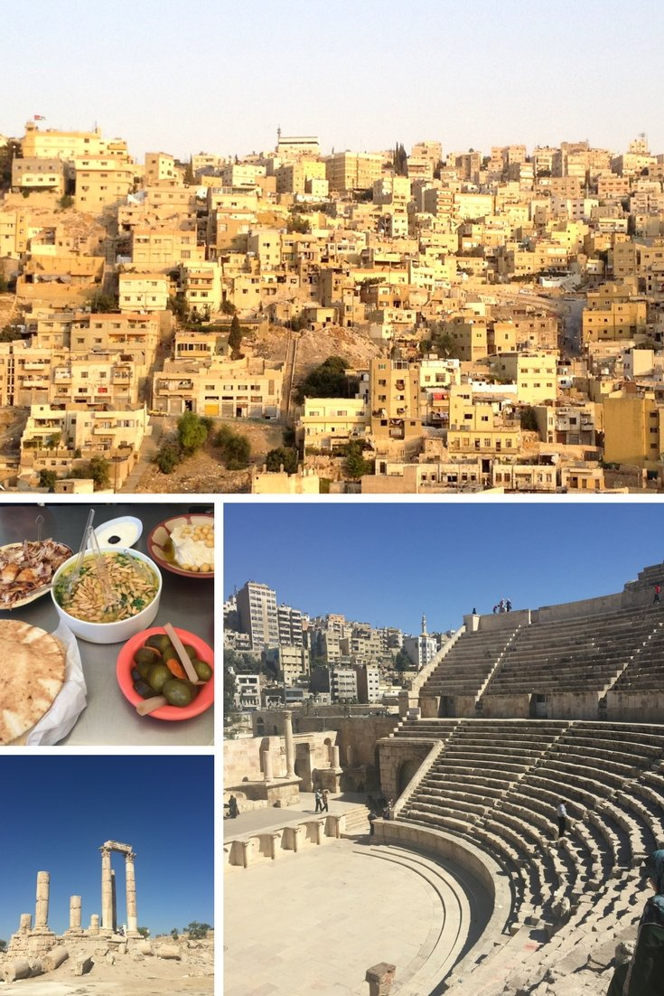 Things to do In Amman | Wander the Citadel | Explore the Roman Amphetheatre | Enjoy the amazing food in Amman | Gaze at the Whitewashed buildings on every hill | #amman #jordan