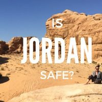 Is Jordan safe 2018 - Wadi Rum Rock Bridge