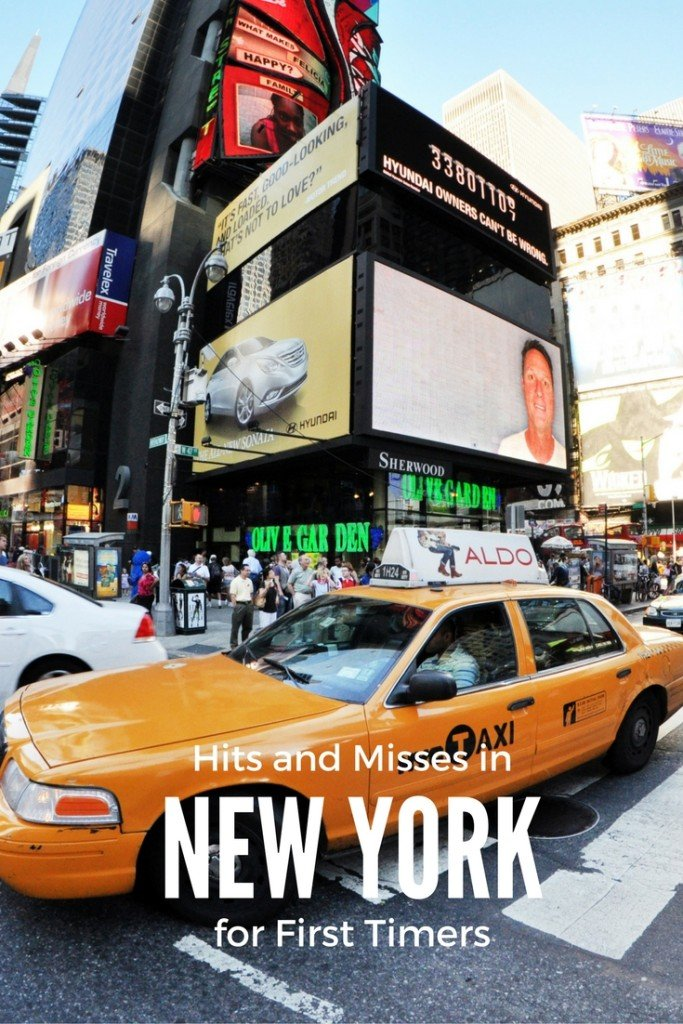 Hits and Misses in NYC - New York for First Timers by Carpe Diem OUR Way