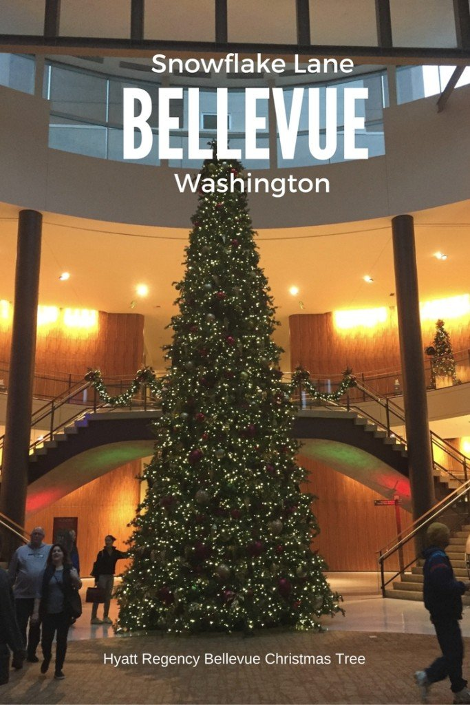 Reasons to visit Bellevue Washington for Christmas Hyatt Regency at Snowflake Lane