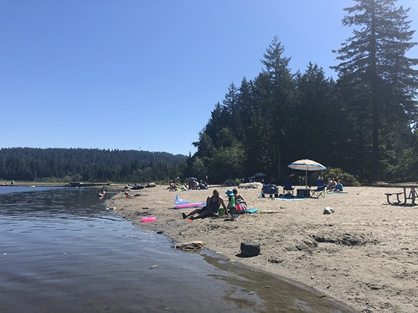Whonnick Lake - on of the Things to do in Vancouver in Summer with Kids