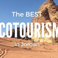The Best Ecotourism In Jordan