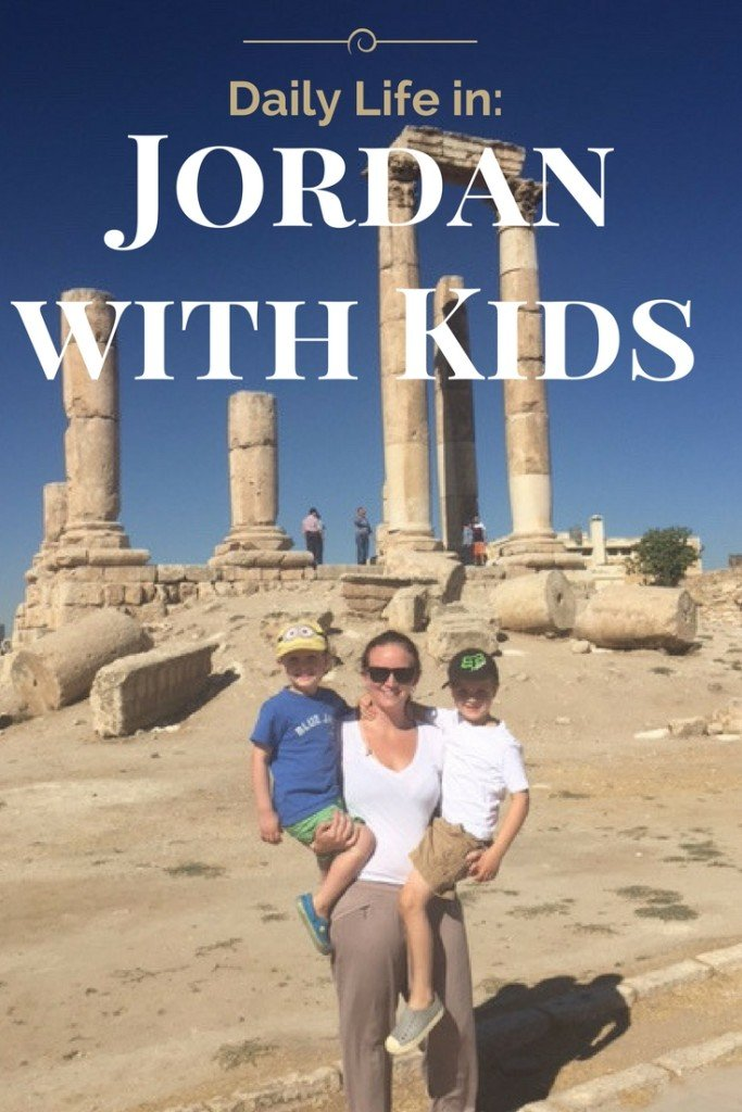 Daily life in Jordan with Kids: Our Jordan Journal on living abroad for a month in Amman