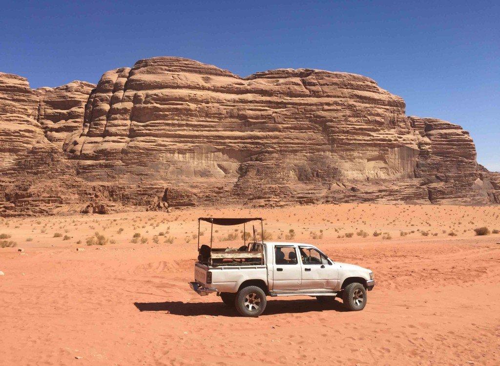 Wadi Rum 4x4 Tour, Jordan