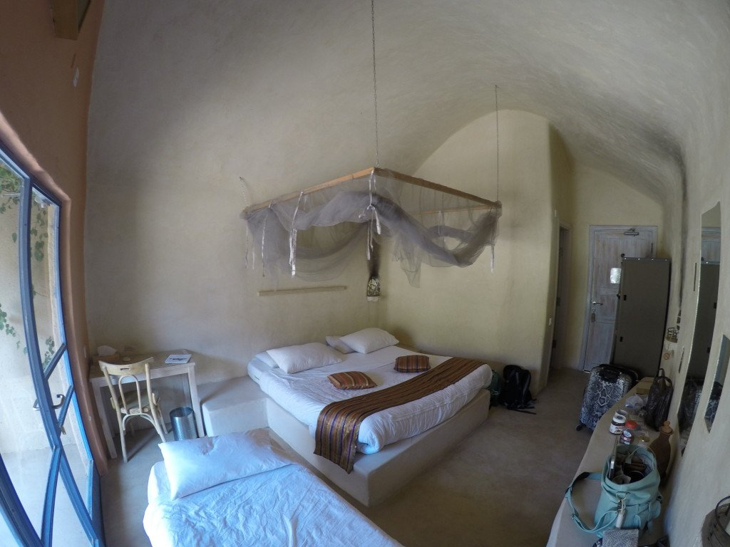 Feynan Eco-Lodge King Room (With Extra Pull Out Bed).