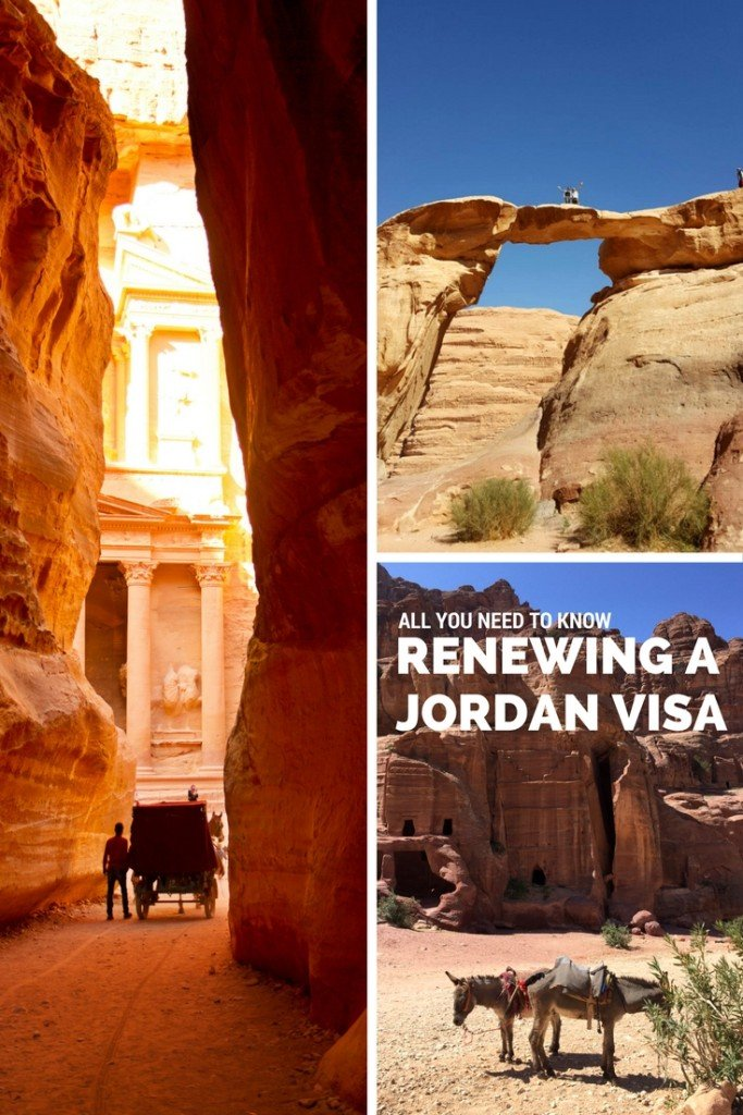 How to renew a Visitor Visa in Jordan