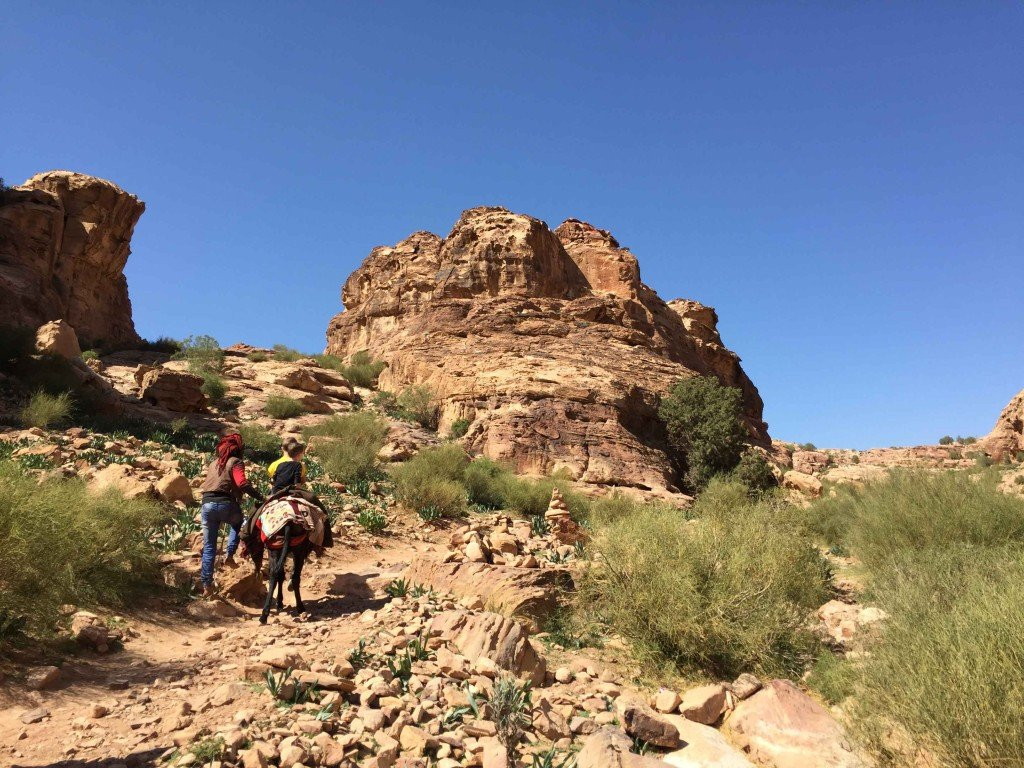Exploring Petra on the Al-Kubtha Trail