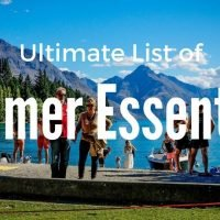 The Ultimate List of Summer Essentials for Camping, Roadtrips, BBQ and the park