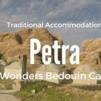 Camping in Petra 7 Wonders Bedoiun Camp in Jordan