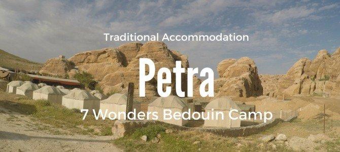Petra's 7 Wonders Bedouin Camp Review