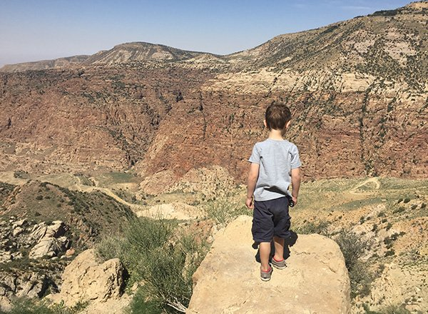 Exploring the Dana Biosphere Reserve