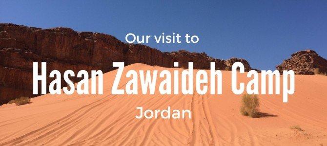 Camping in Wadi Rum: Hasan Zawaideh Camp