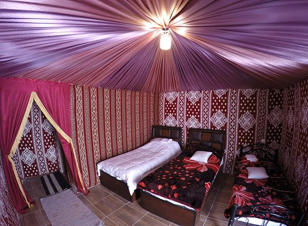 Hasan Zawaideh camp Luxury Tent Wadi Rum Camp