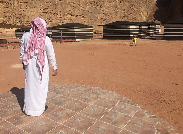 Luxury Tents in Wadi Rum Jordan