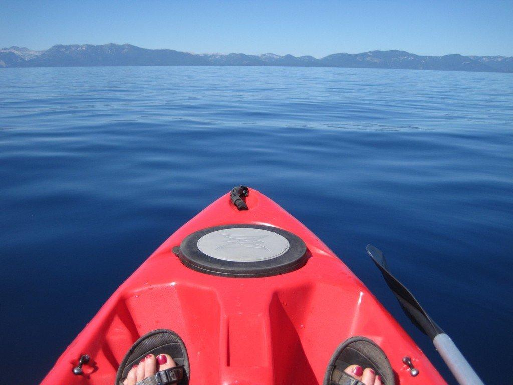 Kayaking in California
