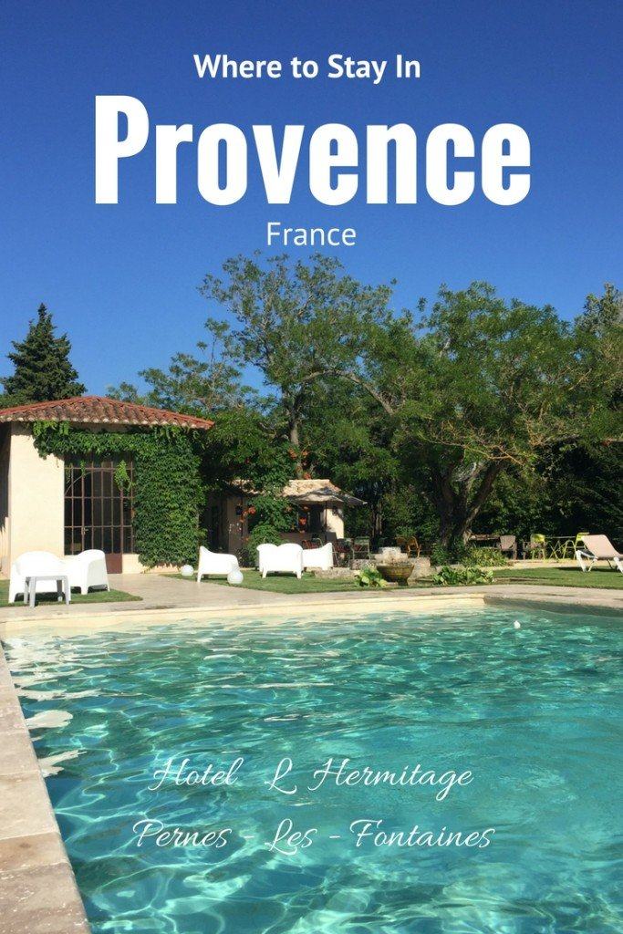 Where to Stay in Provence France with Kids: Family Friendly Accomodation at Hotel H'Hermitage