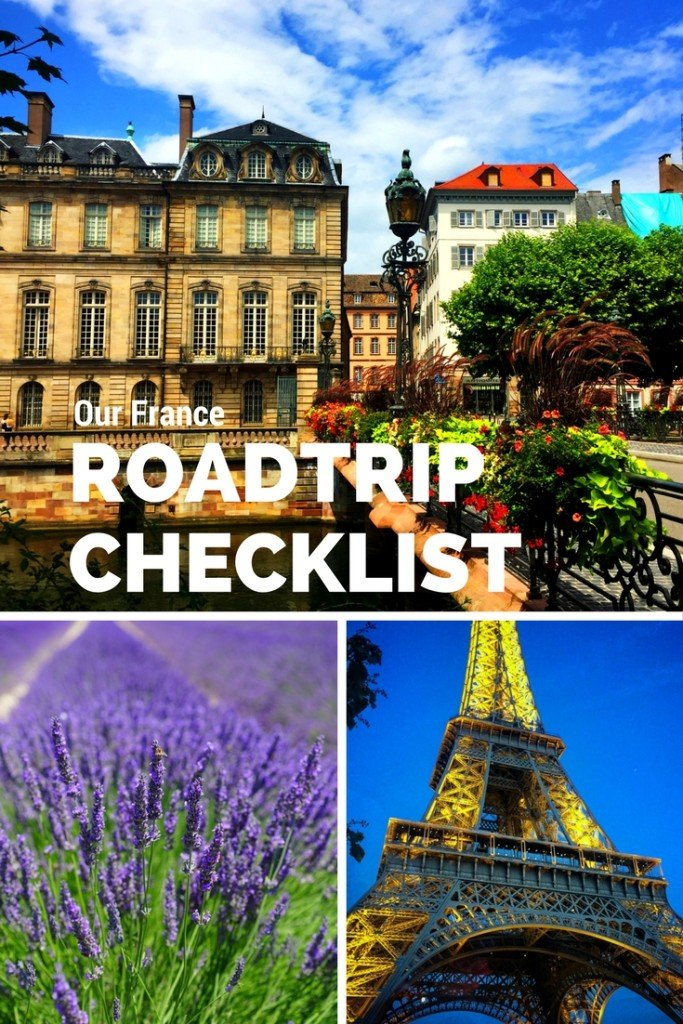 Our France Roadtrip Checklist and Renting a Car in France