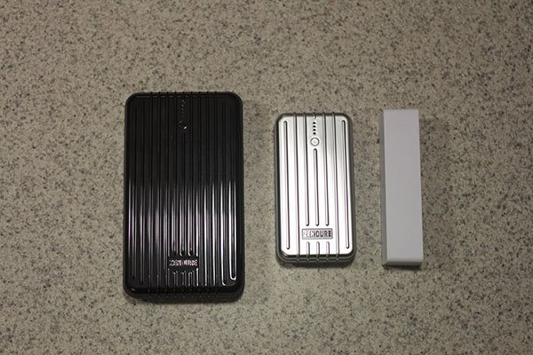 Endure A5, Endure A2, and Freebie chargers compared