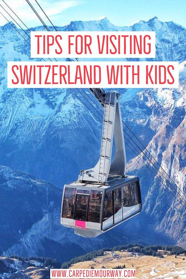switzerland with kids | Switzerland for Families