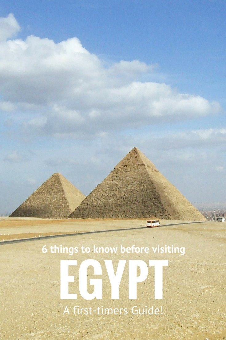 Check out 6 Things to know before Visiting Egypt